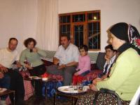 Zu Gast beim Bürgermeister in einem kleinen türkischen Dorf